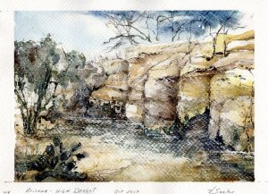 Watercolor - High Desert